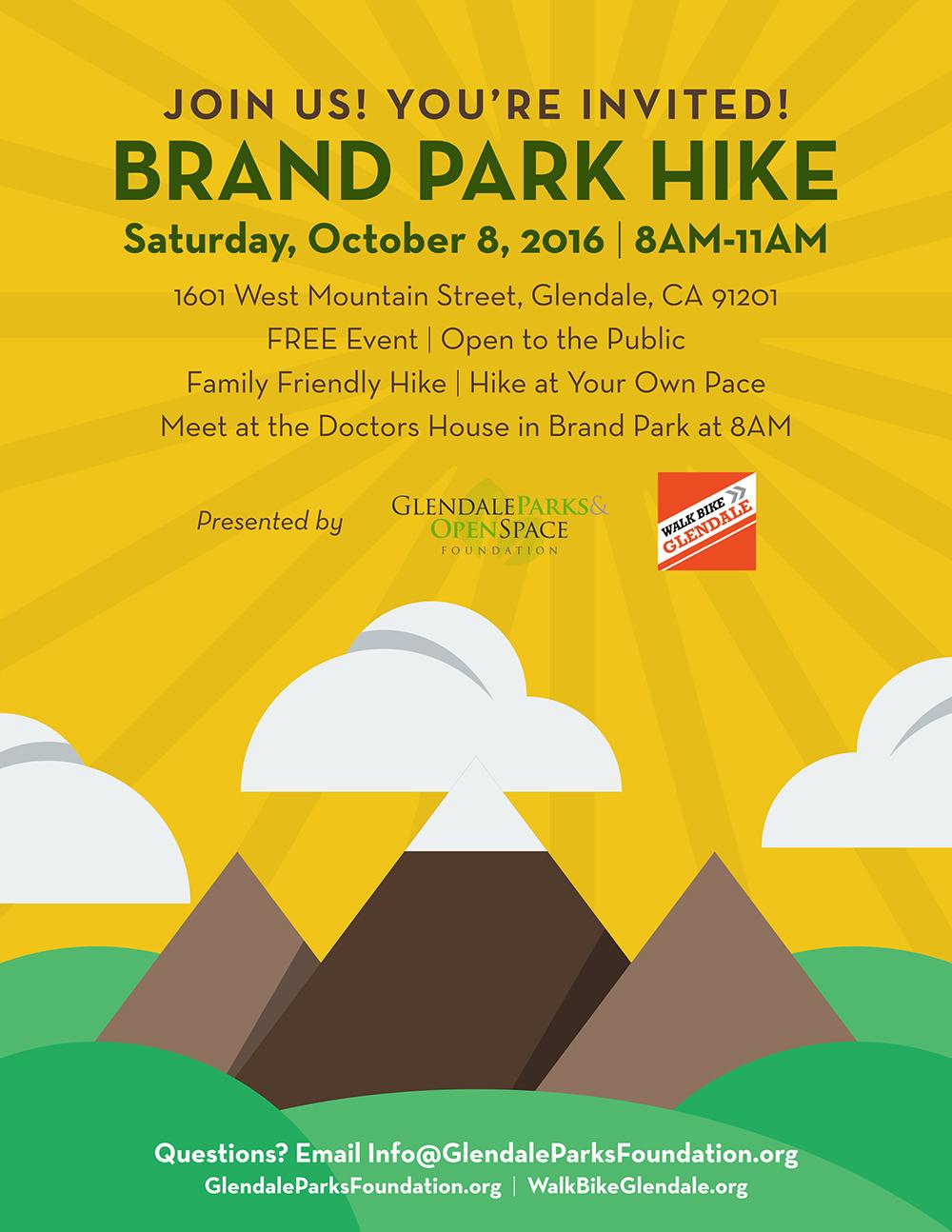 Brand Park Hike Flyer